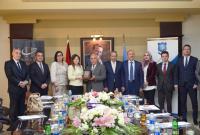وفد برلماني بلغاري يزور جامعة عمان الأهلية