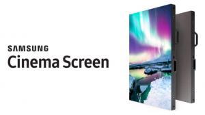 سامسونج تكشف عن شاشة سينما جديدة تدعم HDR و4K