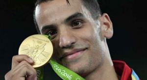 البطل ابو غوش الثالث عالميا والرابع اولمبيا