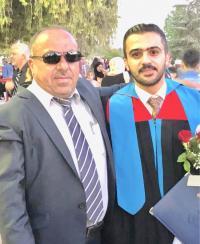 المهندس نادر المومني ..  مبارك التخرج