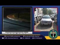 ضبط سائق متهور في عمان (فيديو)