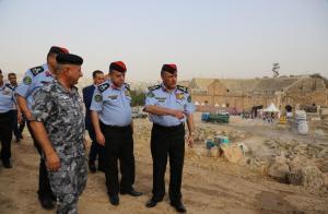 انتهاء الاستعدادات الأمنية لمهرجان جرش