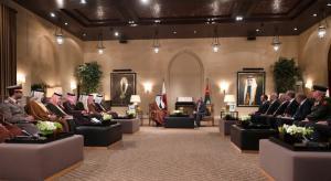 أمير قطر: سعدت بزيارتي للأردن