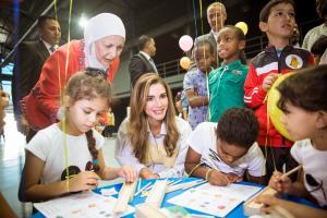 اطلاق مهرجان للحد من العنف ضد الأطفال بحضور الملكة