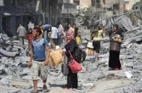 """دراسة: """"إسرائيل"""" خططت لتهجير قطاع غزه للاردن"""