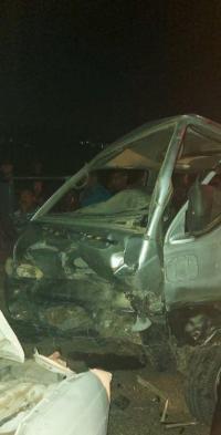 7 اصابات بتصادم مركبتين في غور الصافي