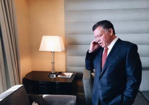 الملك يهاتف بوتين مهنئا