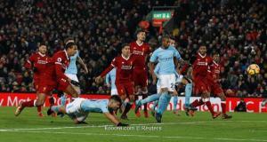 ليفربول يقطع سلسلة مانشستر سيتي بانتصار ساحق