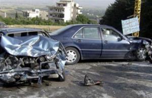 """وفاة واصابة بحادث تصادم على """"الحزام الدائري"""""""