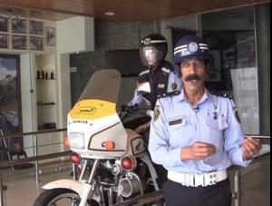 وفاة شرطي السير الأشهر هزاع ذنيبات (فيديو)