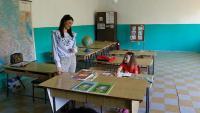يحدث في مدرسة ..  الجرس يدق من أجل تلميذة واحدة! (صور)
