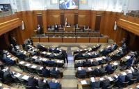 قبول استقالة 8 نواب من البرلمان اللبناني