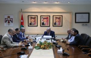 هلسه يلتقي مجلس نقابة المهندسين الأردنيين
