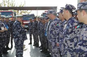مدير عام الدفاع المدني يتفقد جاهزية عدد من المراكز