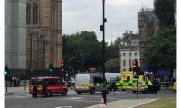 إصابة عدد من المارة دهسا أمام البرلمان البريطاني