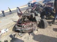 وفاتان و إصابات بحادث على الطريق الصحراوي