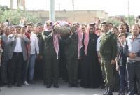 القوات المسلحة تشيّع جثمان اللواء طبيب متقاعد عادل الشريده (صور)