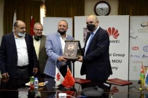 اتفاقية تعاون بين مجموعة الحوراني وشركة هواوي (صور)