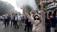 ارتفاع عدد قتلى الاحتجاجات في ايران الى 106