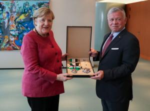 الملك : نتطلع للعمل عن كثب مع ألمانيا