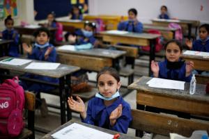 3100 إصابة بكورونا بين الطلبة من رابع حتى الحادي عشر