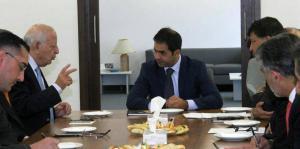 """مجلس العاصمة يلتقي رئيس """"الاتصالات الاردنية"""""""