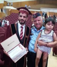 محمد النوافلة مبروك التخرج
