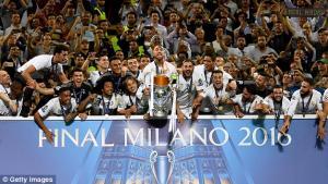 ريال مدريد بطلا لاوروبا