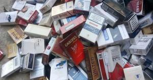 النائب العام الجمركي يقرر اغلاق محال تبيع دخان مهرب