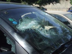 ام قيس: طالب يحطم مركبة استاذه انتقاما