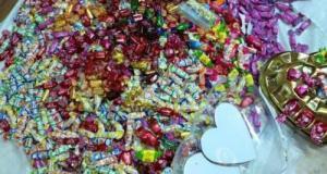ضبط مواد مخدرة في علب حلوى للاطفال