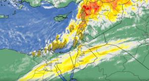 الجبهة الباردة تبدأ تأثيرها في الشمال