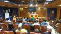 """محاضرة توعوية حول النزاهة ومكافحة الفساد في حقوق """"عمان الأهلية"""""""