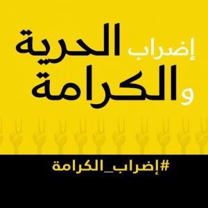 """""""إضراب الكرامة"""" ..  دعوات لتوحيد حملات التواصل الاجتماعي الداعمة للأسرى"""