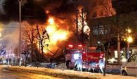 """انفجار قرب محطة تلفزيون """"سكاي تي في"""" باليونان"""