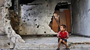 مقتل 5 أطفال جراء سقوط قذيفة على حي الحمدانية بحلب