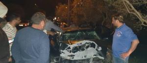 وفاة عائلة فلسطينية بحادث مروع في الزرقاء