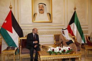 رئيس الوزراء الكويتي: لن نقبل أن تمر الأردن بضائقة ونقف متفرجين