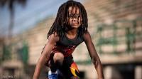 الطفل البرق يتحدى أسرع رجل في العالم