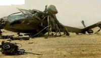 تحطم مروحيتين جنوب بنغازي اثناء تدريبات وأنباء عن قتلى