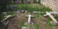 نفذها متطرفون يهود ..  اعمال تخريب بمقبرة مسيحية بالقدس