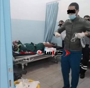 إصابة عامل وطن بعيار ناري في مادبا  ..  صورة