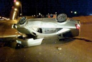 اصابة 6 اشخاص بتدهور مركبة في اربد