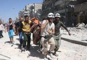 حلب بلا مستشفيات بعد غارات استهدفت 7 مشافٍ ميدانية