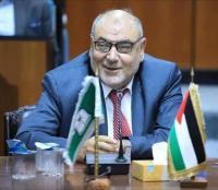 الأمير رعد والأميرة ماجدة يلتقيان رئيس الجامعة الهاشمية