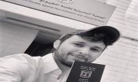 صورة صحفي صهيوني بالبحرين تثير مواقع التواصل